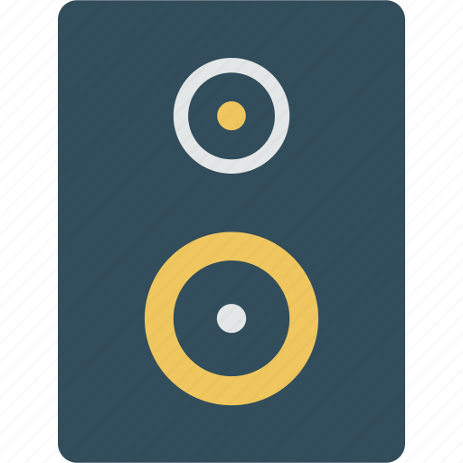 music, speakers icon