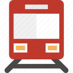 rail, train, transportation icon