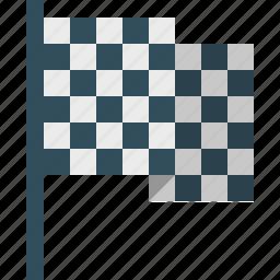 finish, flag, goal icon