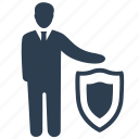 business, business protection, insurance, secure, security icon