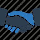 agreement, business agreement, deal, handshake, partnership icon