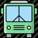public, transport, bus, vehicle