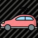 smart, car, transport, vehicle