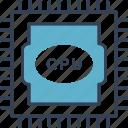 city, computer, cpu, smart icon