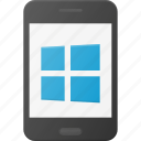 mobile, phone, smart, smartphone, windows icon