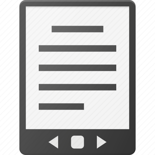 Ebook reader icon in the smart