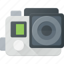 camera, go, gopro, hero, pro, sport icon