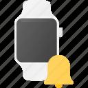 allarm, concept, smart, smartwatch, technology, watch icon
