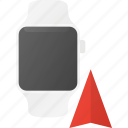 concept, navigation, smart, smartwatch, technology, watch icon
