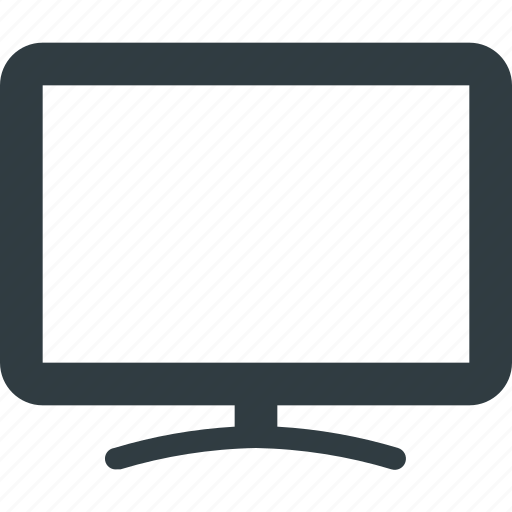 monitor, screen, smart, television, tv icon