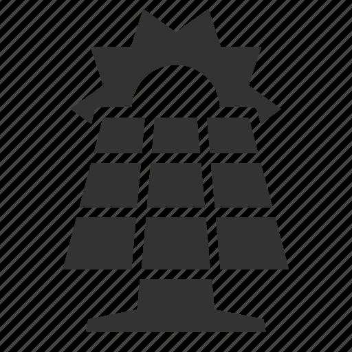 energy, photovoltaic, pv, renewable, solar panel icon