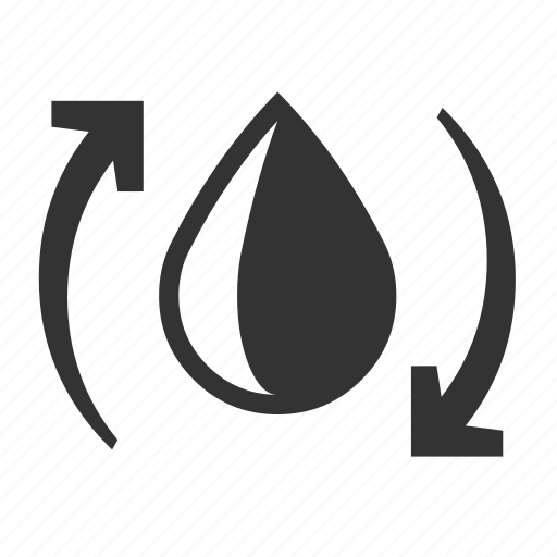 drop, management, resource, water icon