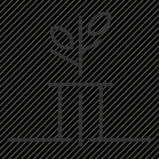 plant, planting, seedling, tree icon