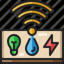 control, smarthome, user, panel, setting, domotics, remote
