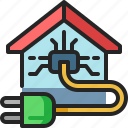 electric, plug, home, electronic, power, technology, energy