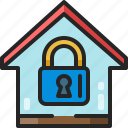 security, lock, smart, padlock, home, safety