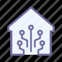 smart, house, technology, home, wireless, digital