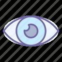eye, see, look, lens, view