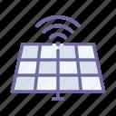 panel, energy, renewable, solar, ecology, wireless