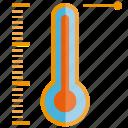heat, temperature, temperature measurer, thermometer icon