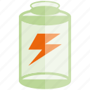 battery, charge, electricity, energy icon