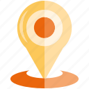 location, map pin, navigation, pin icon