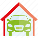 car, garage, roof, vehicle, auto
