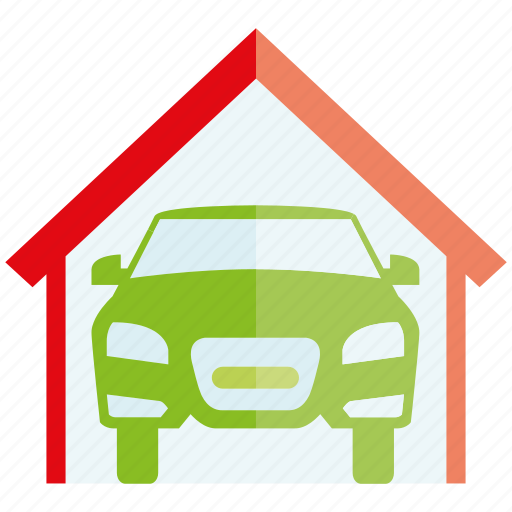 auto, car, garage, roof, vehicle icon
