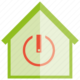 auto, home, home automation, house, smart home, start icon