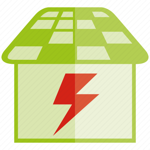 charging, energy, power, roof, solar, solar panel icon