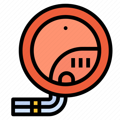 Detector Fire Notification Smoke Icon
