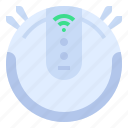 cleaner, home, robot, smart icon