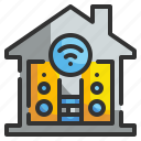 quaver, multimedia, song, technology, sound, audio, music icon