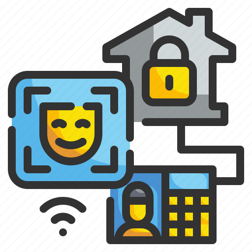 Biometric, face, id, recognition, scan, security, technology icon - Download on Iconfinder