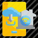 cloud, data, database, internet, network, server, storage