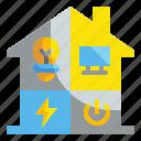electronic, energy, industry, panel, power, smarthome, technology