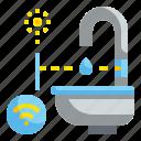 automatic, basin, bathroom, faucet, sink, technology, wash