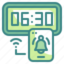 alarm, alert, alerting, clock, notification, time, timer icon