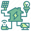 electric, electricity, energy, home, house, power, technology