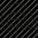 car, electric car, electric vehicle, ev, plug, smart, transport icon