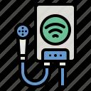 heater, water, electronics, boiler, wifi