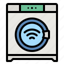 washing, machine, electronics, smart, wifi