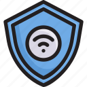 digital, insurance, network, protect shield, security, smart home, technology icon