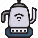 digital, kettle, kitchen, network, smart home, teapot, technology