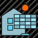 energy, home, house, power, solar, solar panel, sun