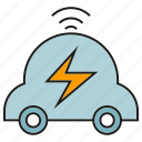bolt, eco car, electric car, electricity, smart car, vehicle icon