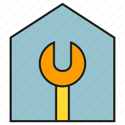 fix, home, house, repair, wrench icon