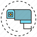 camera, cctv, electronic, security, surveillance icon