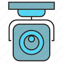 cctv, detection, eletronic, security, surveillance icon