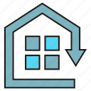 home, home automation, house, smart home icon